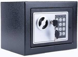 Durable Digital Electronic Safe Box Keypad lock Home Office Hotel Black US
