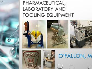 Laboratory, Pharmaceutical and Tooling Equipment