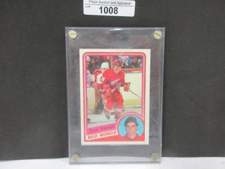HOCKEY CARD  YZERMAN