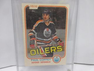 HOCKEY CARD  COFFEY
