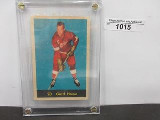 HOCKEY CARD  HOWE