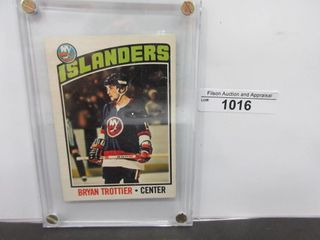 HOCKEY CARD  TROTTIER