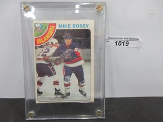 HOCKEY CARD  BOSSY