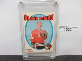 HOCKEY CARD  HUll