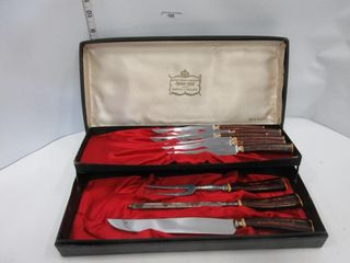 STAINlESS STEEl KNIFE SET   CROWN CREST