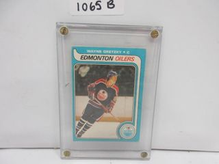 HOCKEY CARD  GRETZKY ROOKIE  OPC