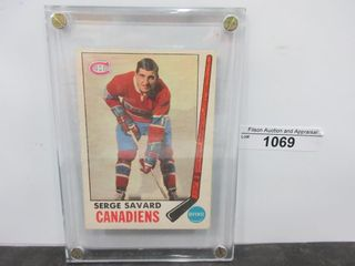 HOCKEY CARD  SAVARD