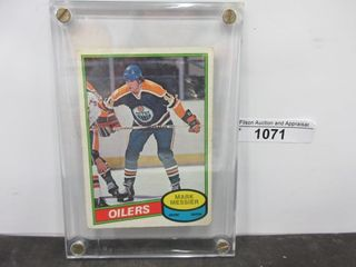 HOCKEY CARD  MESSIER