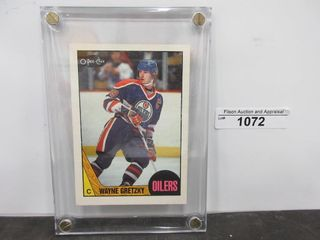 HOCKEY CARD  GRETZKY