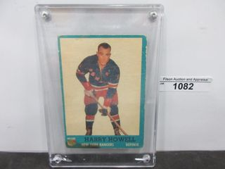 HOCKEY CARD HOWEll