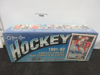 HOCKEY CARDS  1991 92  OPC
