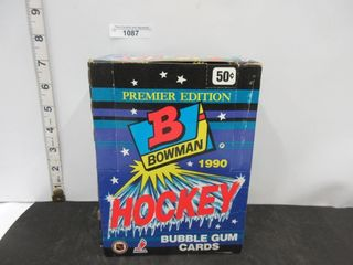 HOCKEY CARDS  1990  BOWMAN  BUBBlE GUM