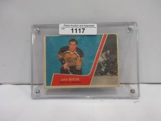 HOCKEY CARD  BUCYK