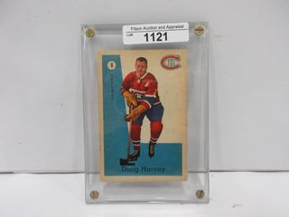 HOCKEY CARD  HARVEY