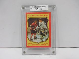HOCKEY CARD  ClARKE