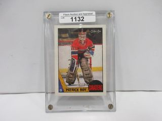 HOCKEY CARD  ROY