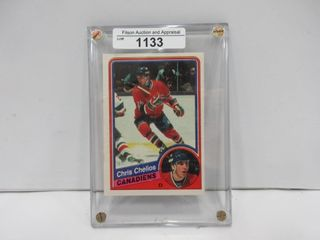 HOCKEY CARD  CHElIOS