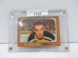HOCKEY CARD  WESTFAll