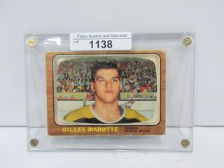 HOCKEY CARD  MAROTTE