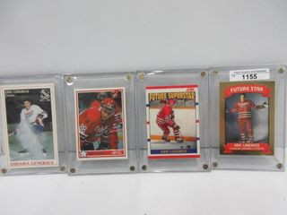 HOCKEY CARDS  lINDROS