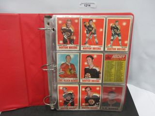HOCKEY CARDS  1970 71  OPC
