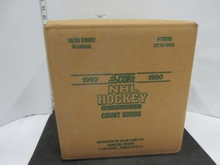 BOX OF HOCKEY CARDS  1990  SCORE