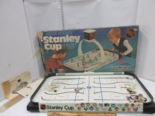 TABlE HOCKEY GAME  COlECO  STANlEY CUP