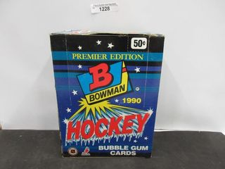 HOCKEY CARDS  1990  BOWMAN  BUBBlE GUM CARDS