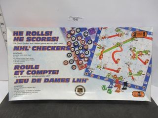 GAME  NHl SNAKES AND lADDERS
