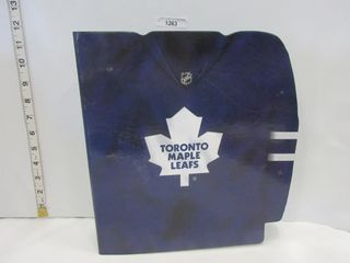 BINDER  TORONTO MAPlE lEAFS