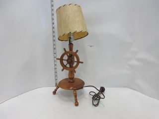 lAMP   SHIP WHEEl