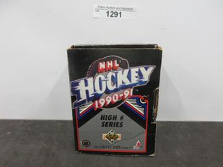 HOCKEY CARDS  1990 91  UPPER DECK