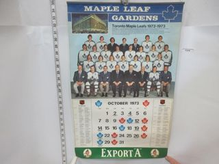 CAlENDAR  1973  MAPlE lEAF GARDENS