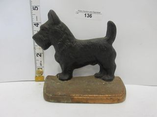 BOOK END   CAST DOG