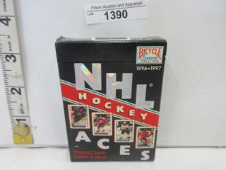 DECK OF PlAYING CARDS  NHl ACES