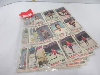 HOCKEY CARDS  1976 77