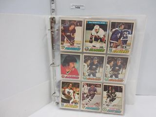 HOCKEY CARDS  1977 78  OPC