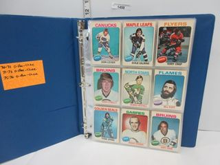 HOCKEY CARDS  1975 76