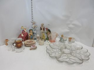 lOT  FIGURES  GlASS PlADDER  MISC