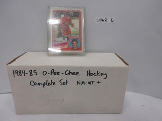 HOCKEY CARDS  1984 85  OPC