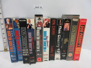 lOT  VHS    DON CHERRY