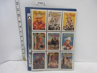 CARDS  ROY ROGERS  70 CARD SET