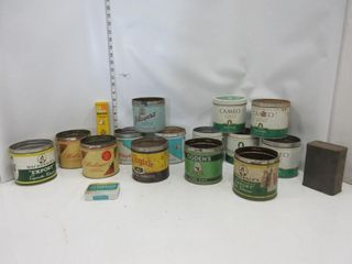 lOT  TOBACCO TINS