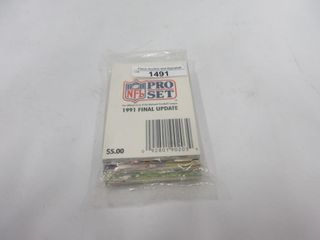 FOOTBAll CARDS  1991  PRO SET