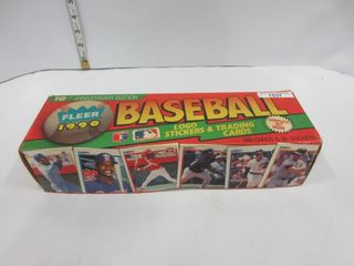 BASEBAll CARDS  1990  FlEER