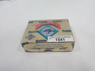 BASEBAll CARDS  1992  DONRUSS  BlUE JAYS