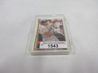 BASEBAll CARDS  1992  HR SERIES 1 26  UPPER DECK