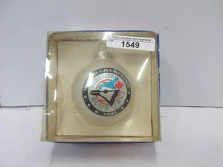 ORNAMENT  1992 BlUE JAYS WORlD CAMPIONS