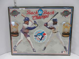 PICTURE  BlUE JAYS  BACK TO BACK CHAMPS