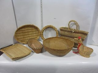lOT  BASKETS  MISC